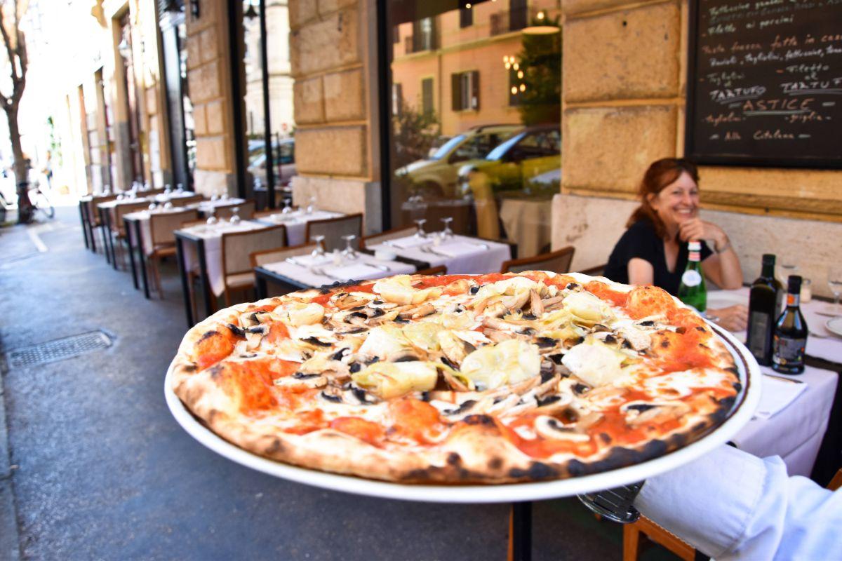 pizzeria via dei gracchi